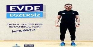 Spor İstanbul'dan vatandaşlara evde egzersiz imkanı