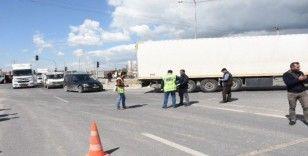 Irak'a gidecek araçların geçişine izin verilmiyor