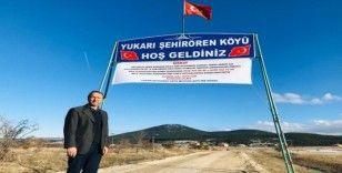 Köy muhtarından 14 günlük karantina tedbiri
