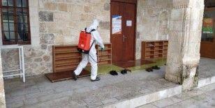 Tut Belediyesi'nin korona virüs önlemleri sürüyor