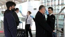İstanbul Havalimanı'nda yolcu ve personellerin ateşi ölçülmeye başlandı