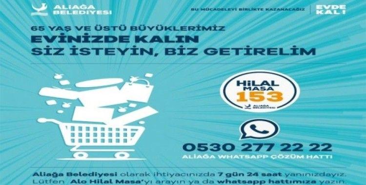 Aliağa Belediyesi 7/24 vatandaşın yanında