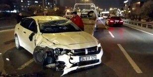 Bayrampaşa'daki feci kaza kamerada