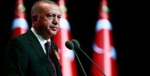 Cumhurbaşkanı Erdoğan'dan koronavirüse karşı sesli mesaj