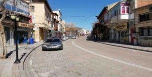 Avanos sokakları boş kaldı