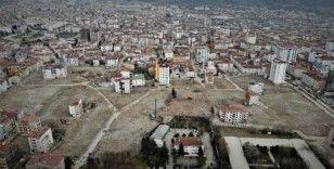 Elazığ'da 14 kişinin hayatını kaybettiği mahallenin son hali görüntülendi