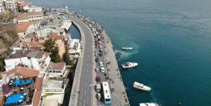 (Özel) İstanbullular boğaza akın etti
