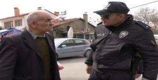 Isparta'da polis 65 yaş denetimi yaptı
