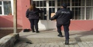 Ağrı'da polis vefa görevinde