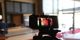 Narven'de, ziyaretçiler termal kamerayla kontrol ediliyor