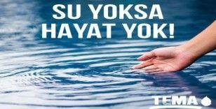 Burhaniye'de TEMA Vakfı'ndan 'Dünya Su Günü' açıklaması