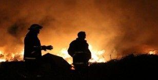 Antalya'da çöplük alan yangını korkuttu