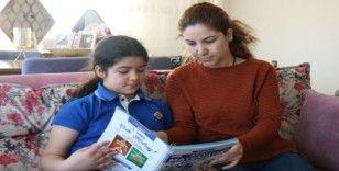 Uzaktan eğitim başladı, Kırşehir'de çocuklar aileleri ile ekran başına geçti