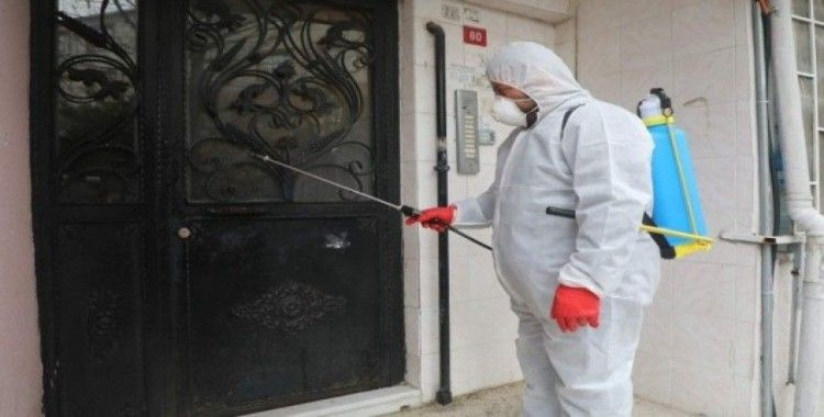 Kırsal Mahallelerde dezenfeksiyon çalışması yapıldı