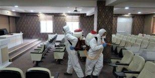 Başiskele'de korona virüsle mücadele sürüyor