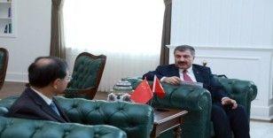 Bakan Koca, Çin Büyükelçisi ile görüştü