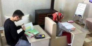 Köy okulu öğrencileri uzaktan eğitimi sevdi