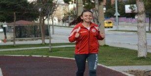 Rüzgarın kızının hedefi olimpiyatlar