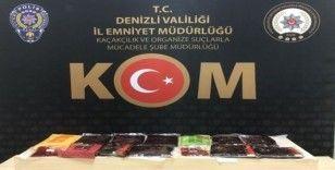 Denizli'de polis tütün kaçakçılarına göz açtırmadı