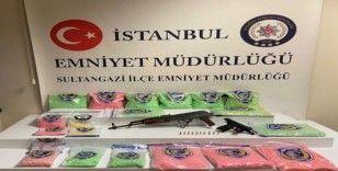 İstanbul'da uyuşturucu hap operasyonu: 60 bin extacy ele geçirildi