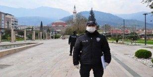Manisa'daki parklarda polis nöbeti