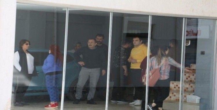 Antalya'da daire yangını