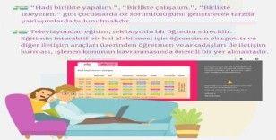 Anadolu Üniversitesinden TV ile öğretime yönelik tavsiyeler