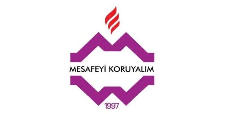 Yeni logo ''Mesafeyi Koruyalım'' mesajı veriyor