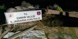 Çankırı'da kaçak kazı yapan 2 kişi suçüstü yakalandı