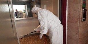 Asansörlere ücretsiz korona virüs temizliği