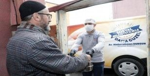 Sultangazi Belediyesi'nden yaşlılara yardım eli