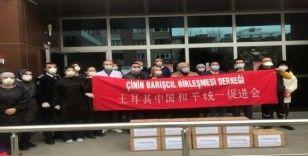 Çin'den Maltepe'ye 10 bin maske bağışı