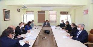 Kaş'ta Vefa Sosyal Destek Grubu toplantısı