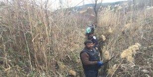 Hisarcık'ta sulama kanalları temizleniyor