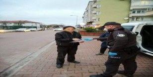 Kastamonu'da sokağa çıkma yasağına uymayan 14 kişiye para cezası
