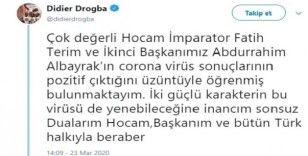 Drogba'dan Fatih Terim'e geçmiş olsun mesajı