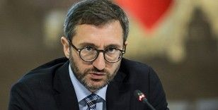 Fahrettin Altun: 'Gerekli yasal işlemler yapılmaktadır'