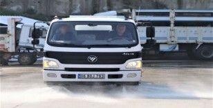 Turgutlu'da dezenfekte çalışmaları devam ediyor