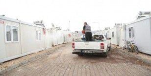 Elazığ'da korona virüsüne karşı dezenfekte çalışmaları