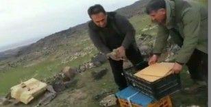 Iğdır'da 'canlı mühre' ile keklik avlayan 7 şahsa 64 bin 624 lira ceza