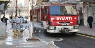 Nevşehir'in dört bir yanı dezenfekte ediliyor
