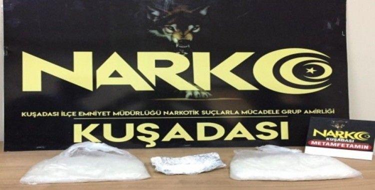 Kuşadası'nda uyuşturucu operasyonu; 4 gözaltı