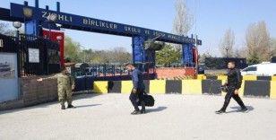 TSK'dan askere alınan acemi erlere üst düzey korona virüs koruması