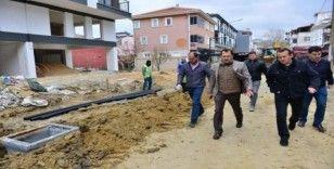 Süleymanpaşa Belediyesi yol çalışmalarına aksatmadan devam ediyor