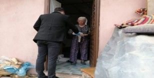 65 yaş üstü vatandaşların evlerine ücretsiz yemek servisi