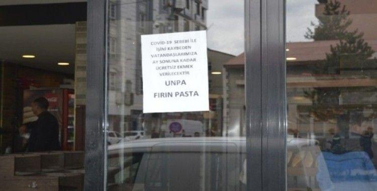 Ağrı'da fırıncılar ihtiyaç sahiplerine ücretsiz ekmek dağıtıyor
