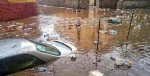 Yemen'de sel felaketi: 2 ölü