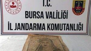 Bursa'da milyonluk tarihi eser operasyonu