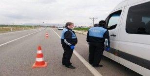 Kahta Belediyesi zabıta ekipleri toplu taşıma araçlarını denetledi