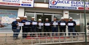 DEDAŞ çalışanlarından vatandaşa 'evde kal' çağrısı